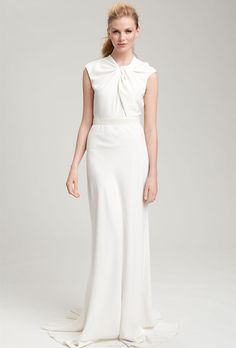 1000 Images About Wedding Dresses Minimalist On Pinterest