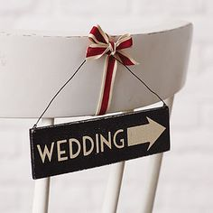 Wedding Small Arrow Sign - room decorations