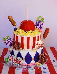 Beau gâteau d anniversaire enfant idée déco