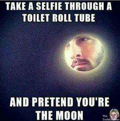 Take a selfie. Fake a life.