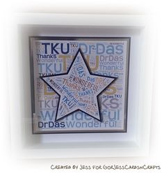 GorJessCardsnCrafts: Framed gifts