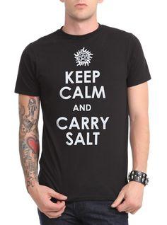 Demons be trippin' - always carry salt!