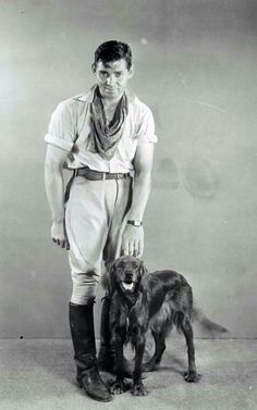 "Clark Gable: When Hollywood was ""Golden"" Hollywood Actor, Golden Age Of Hollywood, Vintage Hollywood, Hollywood Stars, Classic Hollywood, Hollywood Glamour, Irish Setter, English Setter, Classic Movie Stars"
