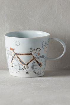 Pedal-Push Mug #anthropologie