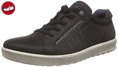 Ecco, Herren Ennio Sneakers, Schwarz (BLACK02001), 43 EU - Ecco schuhe (*Partner-Link)