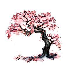 Japanese Cherry Blossom Tree Tattoo Design Tattoos Blossom Tree