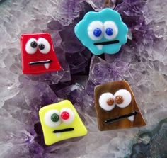 Monster Mash Magnets Ways to use up scrap!