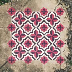 Javier de Riba, an artist based in Barcelona, creates fascinating works of street art that make it seem as though the empty buildings he explores are paved with beautiful tile floors.