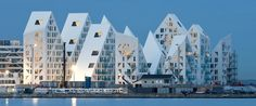 """The Iceberg / CEBRA + JDS + SeARCH + Louis Paillard Architects (Denmark): """"The Iceberg is among the first projects to be finished in an area that on completion will be home to 7,000 inhabitants and provide 12,000 workplaces. Its total site area of 800,000 m2 makes it one of Europe's largest harbor front city developments."""""""