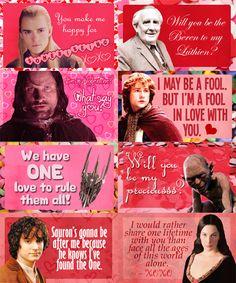 LOTR Valentines