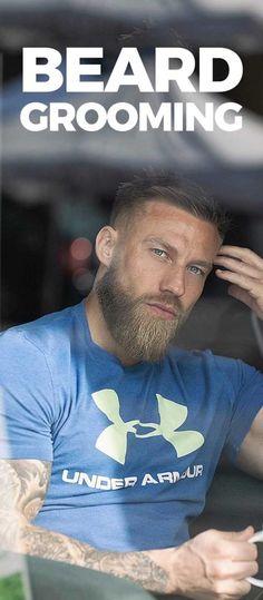 Beard Grooming . Trimmed Beard Styles, Faded Beard Styles, Beard Styles For Men, Hair And Beard Styles, Shaved Head With Beard, Bald With Beard, Beard Fade, Latest Beard Styles, Beard Hair Growth