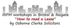 #Book #now @OsborneClarke in #Bristol & #Reigate, @BradySolicitors in #Manchester & #Cambridge http://buff.ly/2b1pzAt  #IRPM #IrpmMan16 #IrpmCam16 #IrpmBri16 #IrpmRei16 #lease #property #training #learning