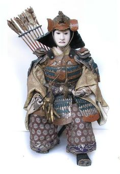 Great Japanese Samurai Doll, Meiji Period