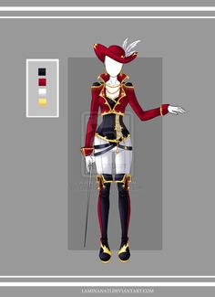 Adoptable outfit 16(closed) by LaminaNati on DeviantArt