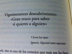 """Cierra los ojos. """"El mundo amarillo"""", Albert Espinosa"""