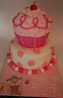 And Everything Sweet: Pinkalicious Cupcake Cake