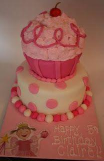 And Everything Sweet: Pinkalicious Cupcake Cake