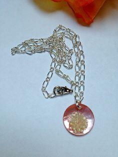 """Halskette """"Glitty"""" #0996 von Hobby-Fun auf DaWanda.com"""