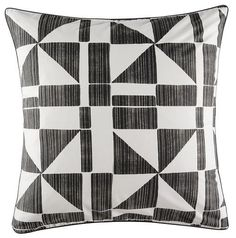 Geometry Euro Pillowcase by Kas SET OF TWO PILLOWCASES 65cmx65cm FREE SHIPPING Australia BUY NOW ON LINK BELOW ....  https://design-a-bedroom.com/collections/euro-pillowcases/products/copy-of-pireas-euro-pillowcase-by-kas-set-of-two-pillowcases-65cmx65cm-free-shipping-australia-1
