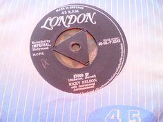 RICKY NELSON - STOOD UP - TRI LONDON 45 | eBay