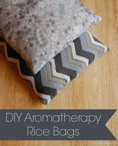 DIY Aromatherapy Rice Bag - So easy to make and everyone NEEDS one!!!