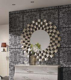 Wandspiegel Liverpool mit originellem Rahmen. Ihr Online-Shop für Deko-Spiegel.
