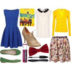 The New Girl -- Jess, created by caitosaur on Polyvore