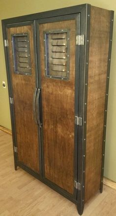 Industrial furniture Locker/wardrobe #46 by industrial evolution furniture co.