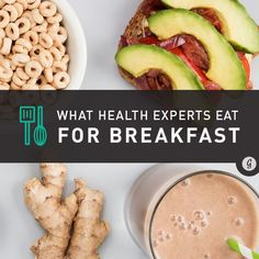 What Top Health Experts Eat for Breakfast #breakfast #healthy #oatmeal