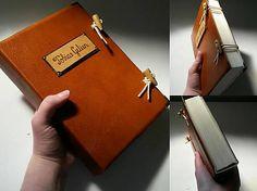 personal diary / leather journal / handmade bookbinding / Kožený zápisník A5 na želanie