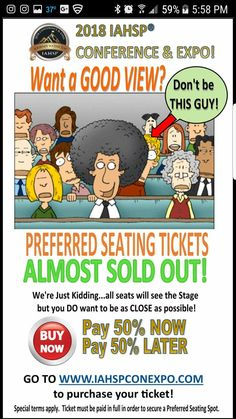 PREFERRED SEATS are ALMOST SOLD OUT! Don't wait to get your ticket and reserve your spot at the Home Staging Industry's TOP EVENT for 2018! Go to www.iahspconexpo.com to get your ticket before prices go up! #home #staging #industry #conference #expo #iahspworldwide #association #professional #worldwide #realestate #house #property #stager #stage