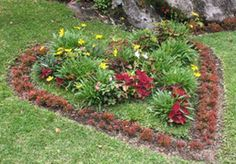 A memorial garden. We just lost our dog Luci. I like this idea