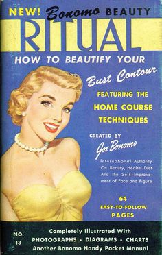 Beautify your bust contour at home!  Complete with photographs, diagrams and charts.