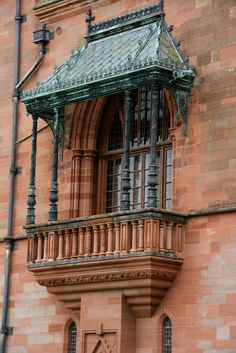 Mount Stuart House, Bute Amazing Places, Beautiful Places, House Of Stuart, Isle Of Bute, Tent Awning, Marquess, Rooftops, Gothic Architecture, Tree Houses