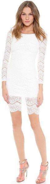 Blaque Label Long Sleeve Lace Dress on shopstyle.com.au