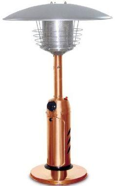Amazon.com: Garden Sun GS3000CP Table Top 11,000 BTU Propane Powered Patio Heater With Push Button Ignition, Copper: Patio, Lawn & Garden
