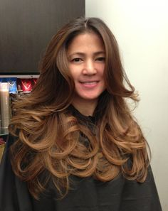 Guy Tang - West Hollywood, CA, United States. Mocha Ombre on Asian hair.My client Cherry loves it