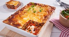 This Vegetarian Lasagne featuring our NEW Black Beans from Phoodie is ridiculously delicious!  #dinner #italian #recipe