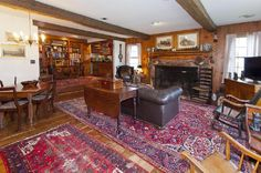 Living Room of 1830 Federal Alpine, New Jersey