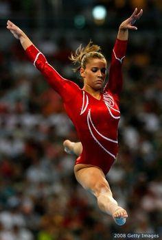 Alicia Sacramone...Team USA....Gymnastics