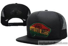VANS OFF THE WALL Snapback Hats Adjustable Caps Mesh 298