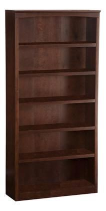 Oak Bookshelves, 5 Shelf Bookcase, Built In Bookcase, Storage Shelves, Contemporary Shelving, Contemporary Frames, Book Display Shelf, Atlantic Furniture, Hardwood Plywood