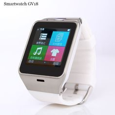 GV18 Clock Sync Notifier Bluetooth Connectivity Smart Watch for Android Phones