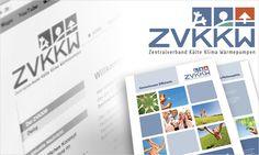 vivia: Beratung, Corporate Design, Internet und Druckmedien für den ZVKKW (Zentralverband Kälte klima Wärmepumpen)