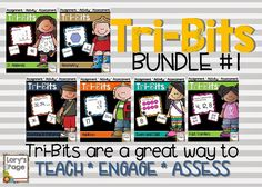 Review your common core math standards with tri-bits.  A fun activity... a great review!