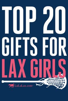 Check out our Top 20 Gifts for Lax Girls from LuLaLax.com! Lacrosse Sport