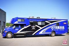 Kutvek Wrap - YAMAHA FRANCE Truck