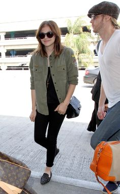 Chloe Moretz arrives at LAX Airport to catch a flight out of town on Thursday (September 19) in Los Angeles.