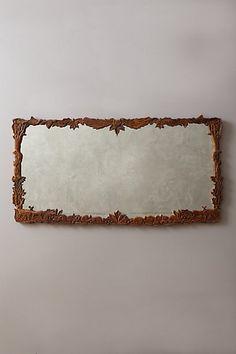 Handcarved Menagerie Mirror - anthropologie.com