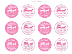 cupcake toppers - stickers